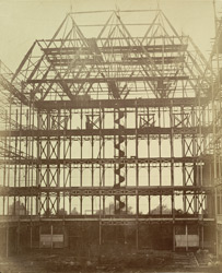 The Centre Transept - Hanging Scaffold For The First Ribs, Refixed